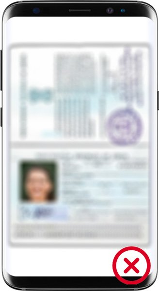 KYC ID Rejected - to blurry