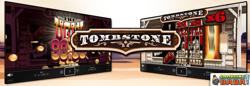 Tombstone banner
