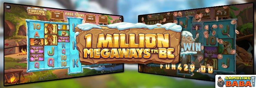 one million megaways banner