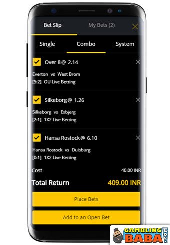 Add Your Markets to a Betting Slip