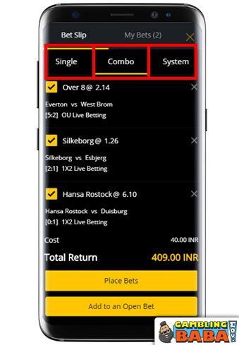 Choose the Format of Your Betting Slip