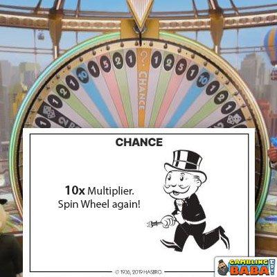 chance 10x