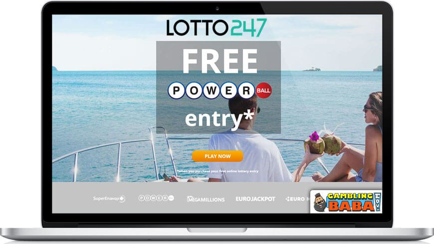 welcome offer at lotto247 free powerball ticket