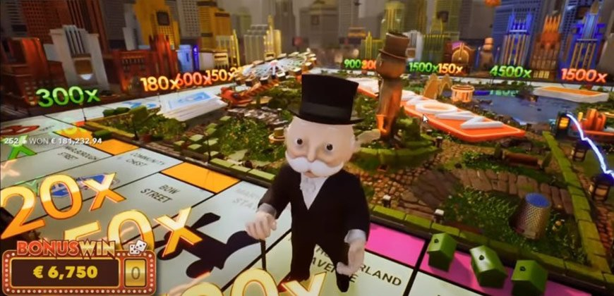 Monopoly live big win
