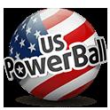 US powerball lottery ticket logo