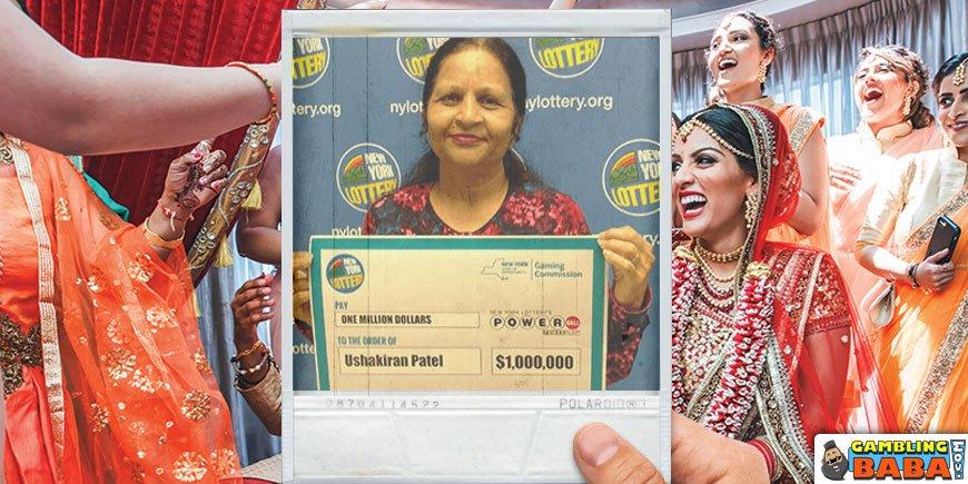 Ushakiran Patel - Kemenangan $ 1 Juta dalam Lotere Powerball AS