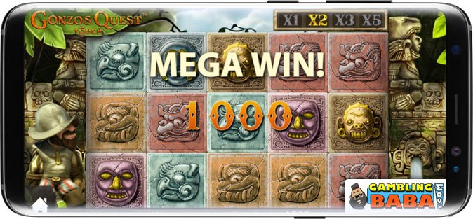 Play popular slots such as Gonzo's quest at JVspin