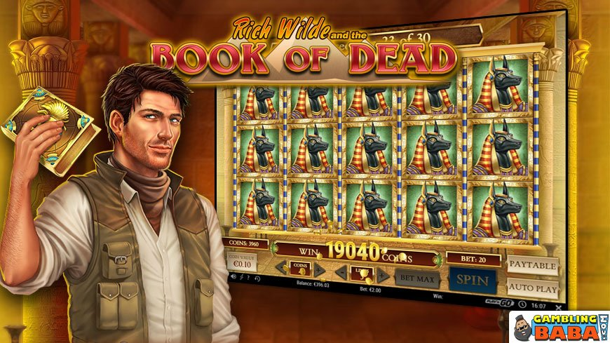 best play n go slot book of dead