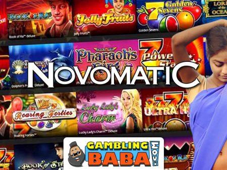 Top 10 Novomatic Slots