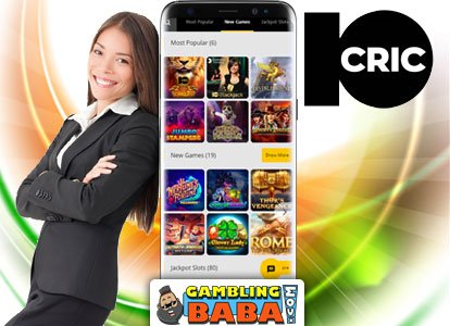 10cric is the best online casino site in India