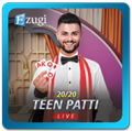 Teen Patti live from Ezugi
