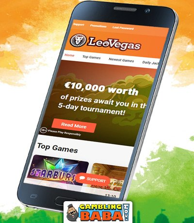 leovegas is the best mobile casino to play at from india