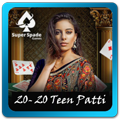Teen Patti 20-20 from Super Spade games
