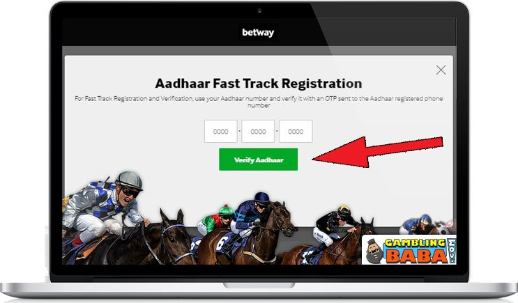 Easy signup for horse betting with Aadaar ID