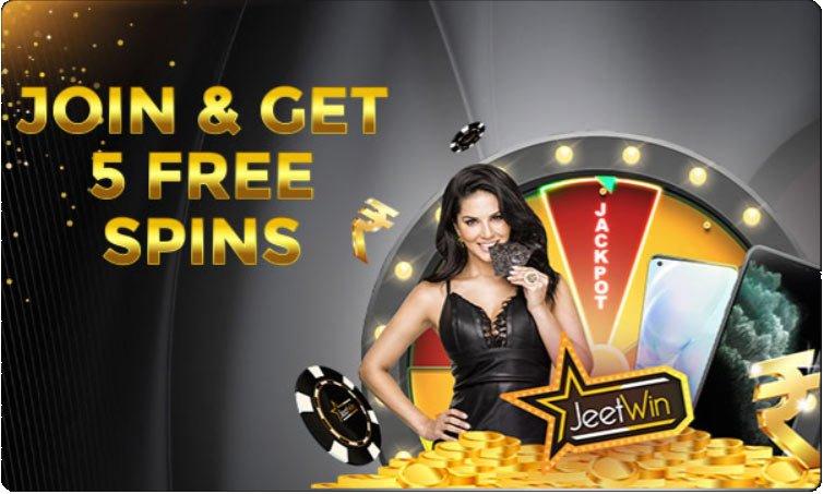 Jeetwin free jackpot bonus