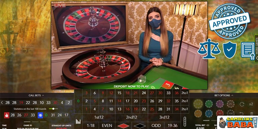 Safe legal and licensed roulette sites