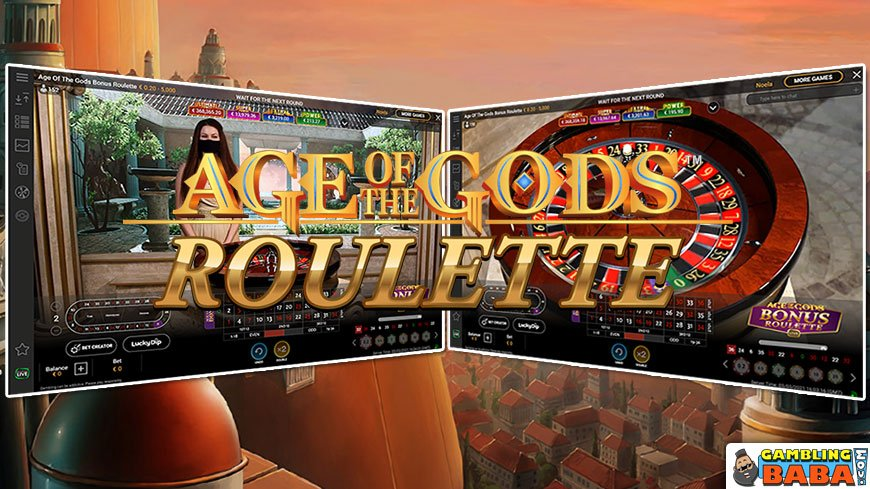 Age of Gods Jackpot Roulette