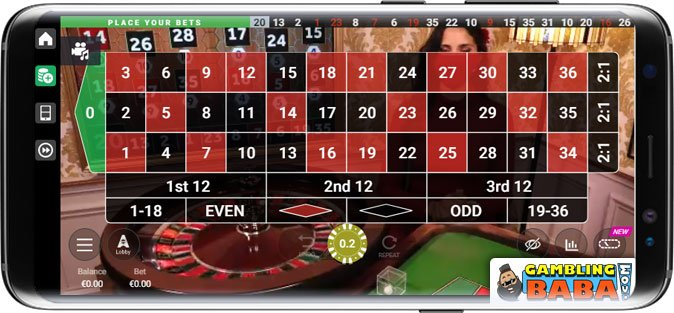 play roulette online from your mobile phone