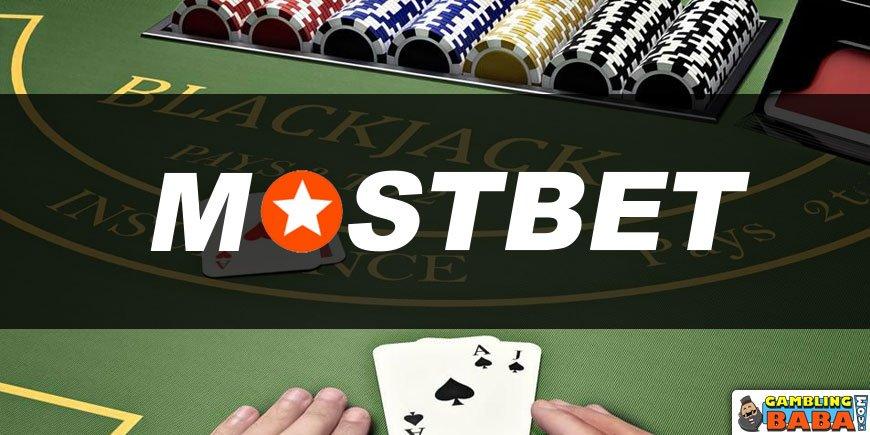 Blackjack at mostbet