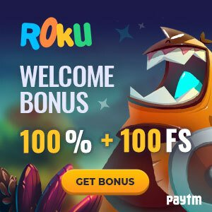 Join Roku casino for an awesome welcome bonus