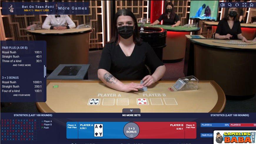 live casino teen patti variations