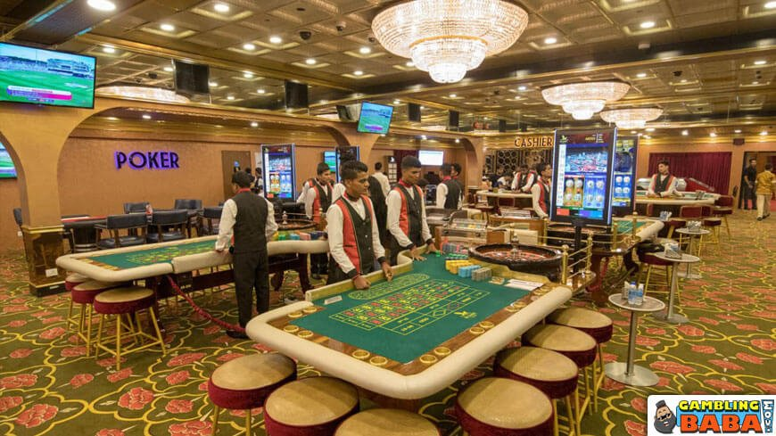 Young dealers in big daddy's live casino