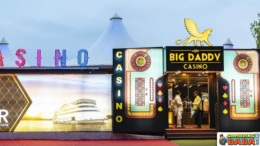 The entrance to big daddy casino