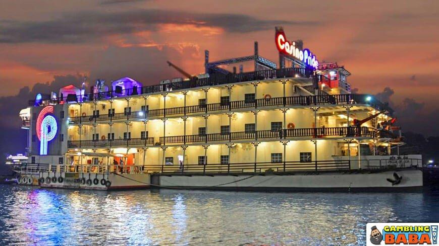 Casino Pride goa exterior
