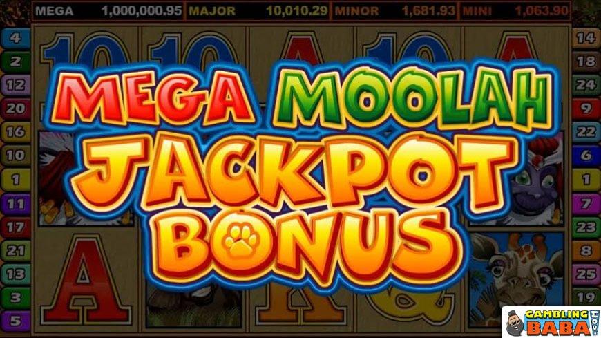 Mega Moolah jackpot bonus