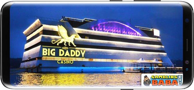 big daddy casino during night time
