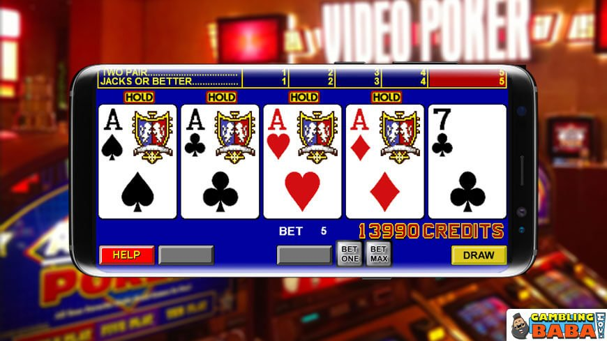 cara bermain video poker permainan kasino online