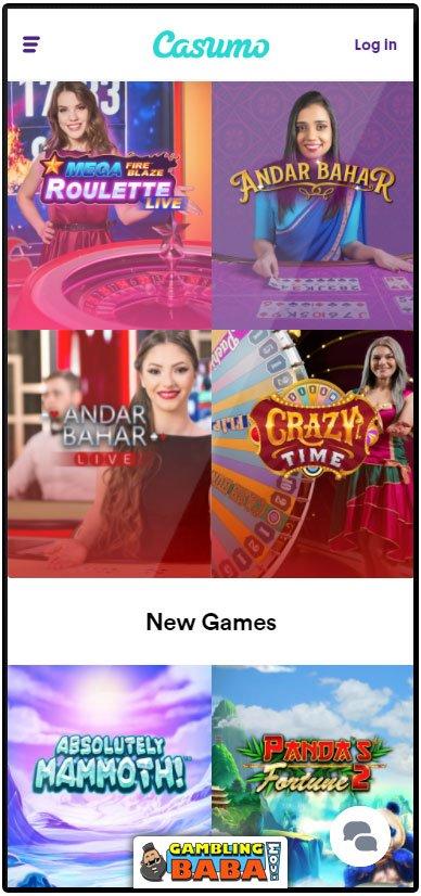 casumo casino online in the mobile