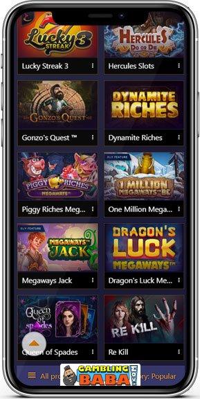 Play casino slots at jvspins