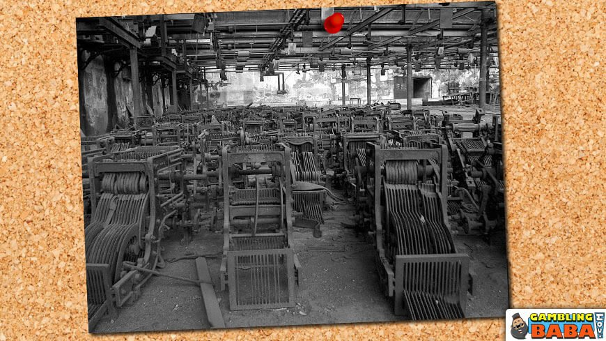 old textile mill in Bombay