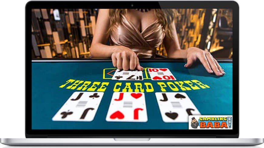 3 card poker game
