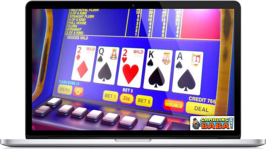 Video poker card game
