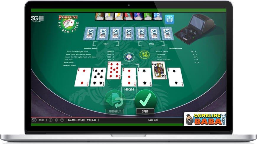 pai gow poker game